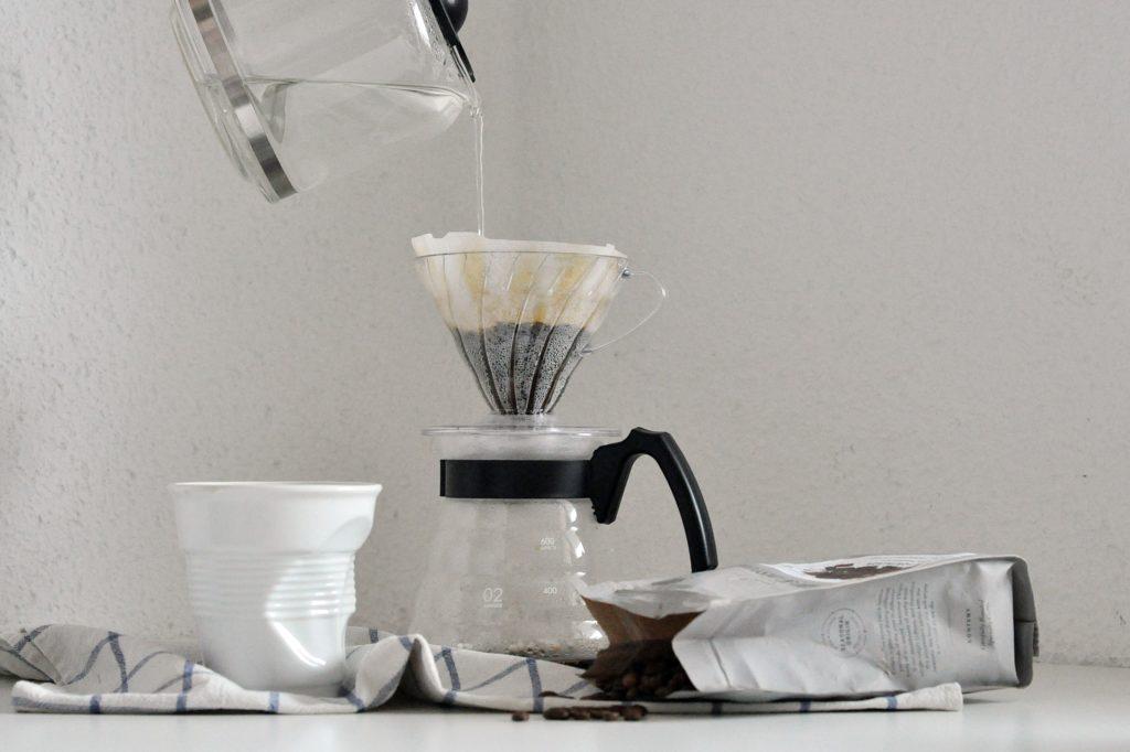 Szybka kawa z drippera!