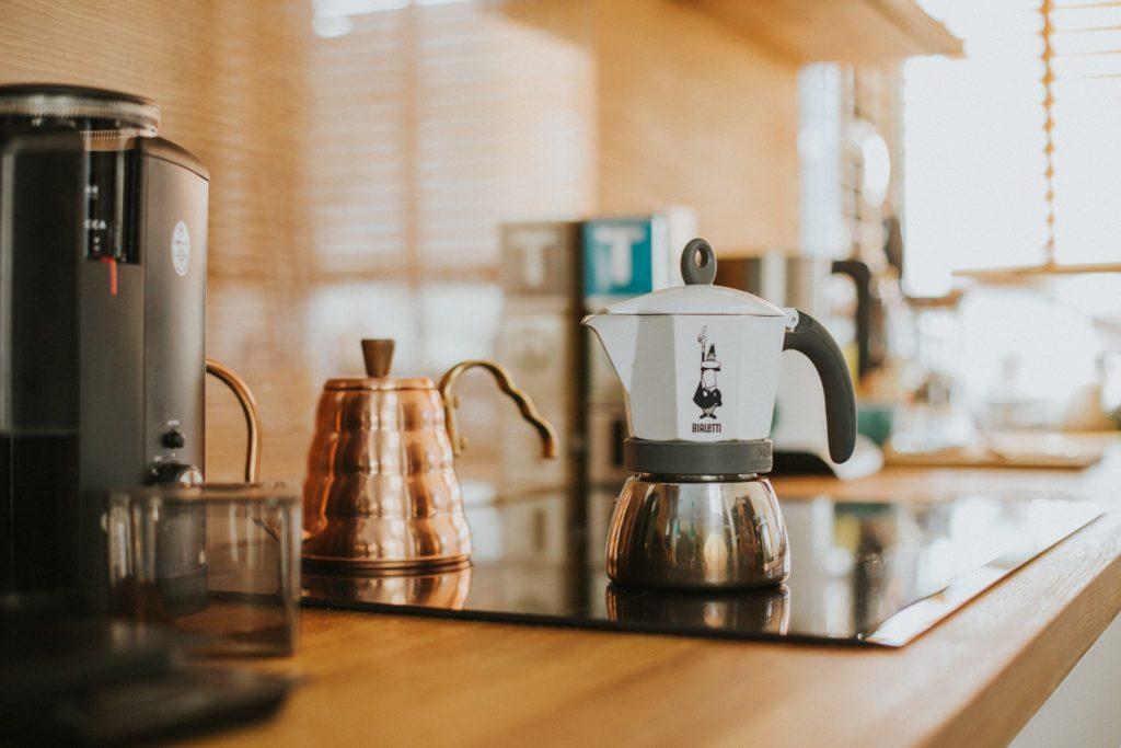 Kawiarka-kawa jak z włoskiej kawiarni!