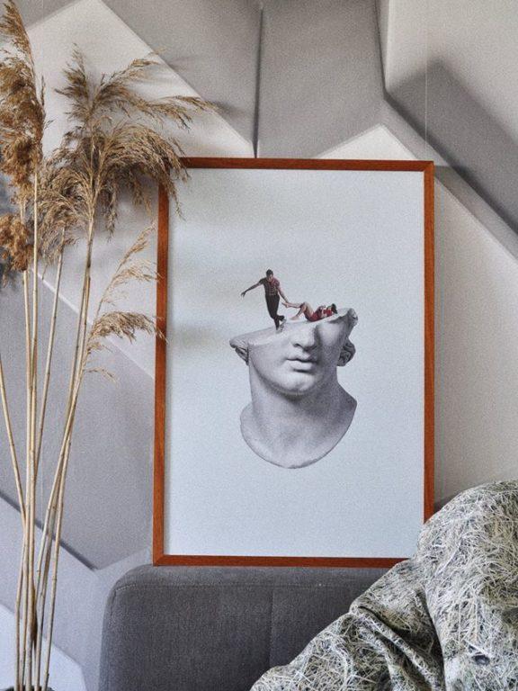 Posterlounge – Dlaczego warto aranżować plakaty we wnętrzach?